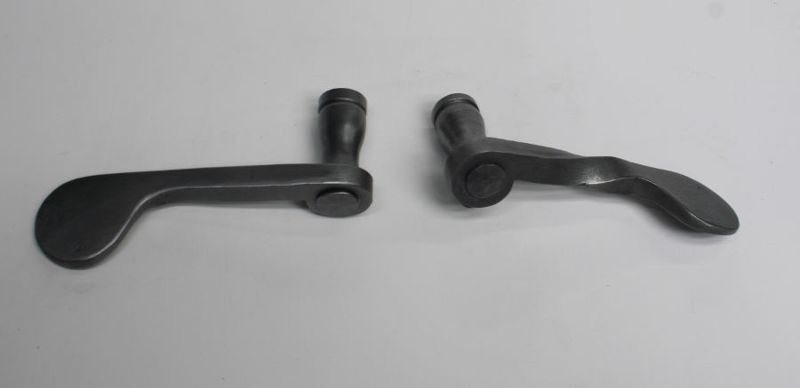 Iron paddle Levers Can be made with or without Twisted Shank.