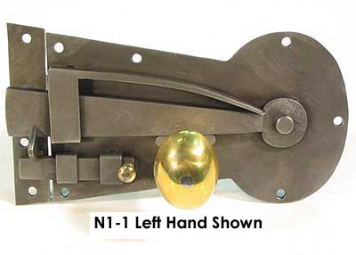 Hand-made Spring Latch, Key hole Latch